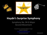 "COMPOSER- HAYDN & HIS ""SURPRISE SYMPHONY""- POWERPOINT/LIST"