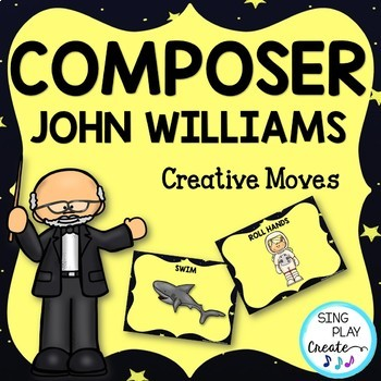 Composer John Williams Music Class Lesson Bundle: Scarf and Rhythm Activities