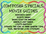 COMPOSER SPECIALS MOVIE GUIDES BUNDLE 7 COMPOSERS, DISTANCE LEARNING