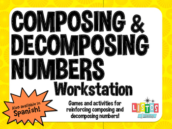 COMPOSING & DECOMPOSING NUMBERS Workstation