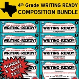COMPOSITION BUNDLE ~ WRITING READY 4th Grade Task Cards- 8 Basic & Advanced Sets