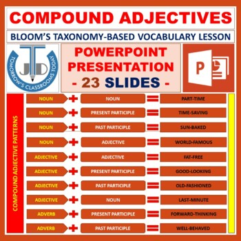 COMPOUND ADJECTIVE: READY TO USE LESSON PRESENTATION
