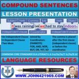 COMPOUND SENTENCES LESSON PRESENTATION