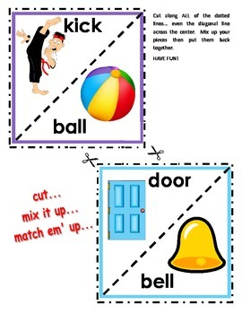 COMPOUND WORD PUZZLES/ACTIVITIES