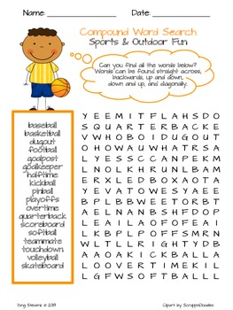 COMPOUND WORD SEARCHES