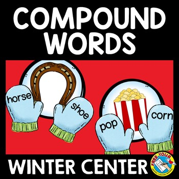 WINTER COMPOUND WORDS ACTIVITY