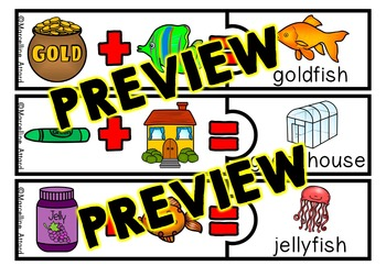 COMPOUND WORDS CENTER: COMPOUND WORDS PUZZLES: COMPOUND WORDS ACTIVITIES