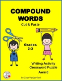 COMPOUND WORDS ... Cut and Paste Worksheets ... Gr. 2-3