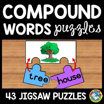 COMPOUND WORDS ACTIVITY PUZZLES