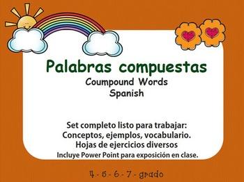 COMPOUND WORDS. PALABRAS COMPUESTAS EN ESPAÑOL.