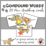 COMPOUND WORDS - PUN FUN Activity or Learning Center  UPDATED!