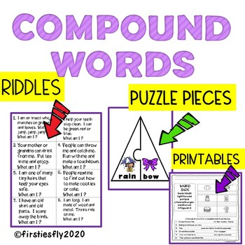 COMPOUND WORDS: RIDDLES AND PUZZLES