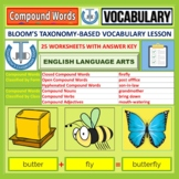 COMPOUND WORDS: WORKSHEETS WITH ANSWERS