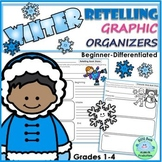 RETELLING Graphic Organizers WINTER Beginner