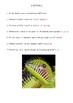 COMPREHENSION CARDS-Carnivorous Plants (Teacher)
