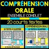 COMPRÉHENSION ORALE - ENSEMBLE COMPLET (SÉRIE 1 ET 2) - 20