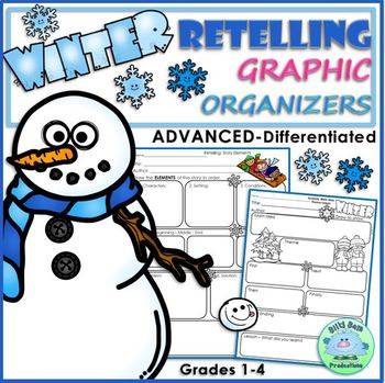 COMPREHENSION RETELLING Book Shares ADVANCED WINTER