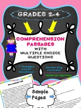 COMPREHENSION STORIES GRADES 2-4