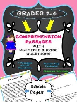 COMPREHENSION STORIES GRADES 2-4