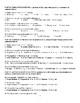 COMPREHENSIVE GRAMMAR TEST; SUBJECTS, PREDICATES AND SENTENCES