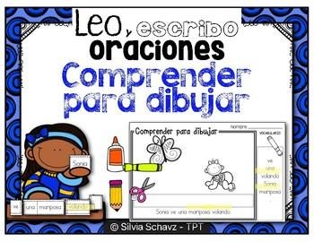 Leo y escribo oraciones - Comprender para dibujar