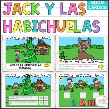 Jack Y Las Habichuelas Magicas Worksheets Teaching Resources Tpt