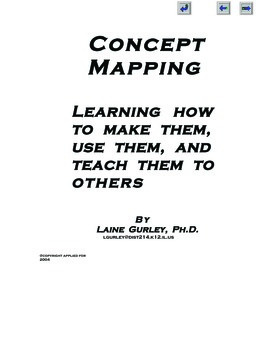 CONCEPT MAPPING:LEARNING HOW TO MAKE THEM, USE THEM AND TEACH THEM TO OTHERS