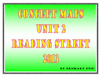 CONCEPT MAPS - UNIT 2 - SECOND GRADE READING STREET (2013