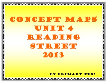 CONCEPT MAPS - UNIT 4 - SECOND GRADE READING STREET (2013 EDITION)