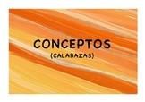 Mathematical Concepts Pumpkins (Spanish) | CONCEPTOS MATEM