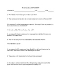CONCUSSION Movie Questions