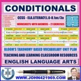 CONDITIONALS AND MODAL VERBS - WORKSHEETS WITH ANSWERS
