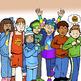 CONDITIONS Emotions CommUNITY Clip-Art Bundle-14 Pieces BW/Color
