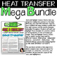 CONDUCTION, CONVECTION, AND RADIATION Heat Energy Heat Transfer Bundle