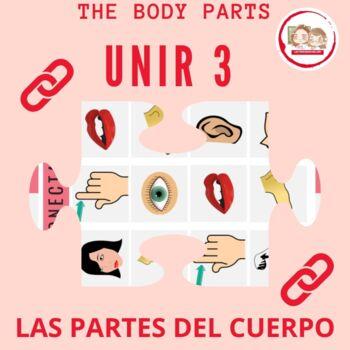 CONECTA 3 LAS PARTES DEL CUERPO (Tic, Tac, Toe: The Body Parts)