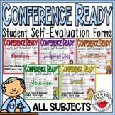 CONFERENCE FORMS BUNDLE w/BONUS–students evaluate performance and set goals