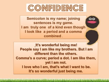 CONFIDENCE  and self- esteem for everyone.