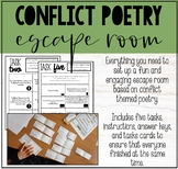 CONFLICT POETRY ESCAPE ROOM