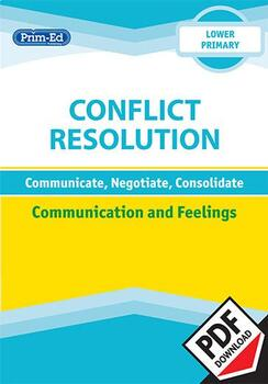 CONFLICT RESOLUTION - COMMUNICATION AND FEELINGS: LOWER UNIT