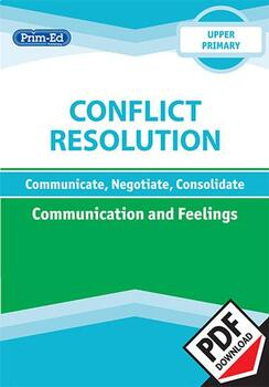 CONFLICT RESOLUTION - COMMUNICATION AND FEELINGS: UPPER UNIT
