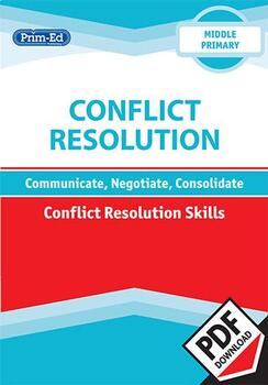 CONFLICT RESOLUTION - CONFLICT RESOLUTION SKILLS: MIDDLE UNIT