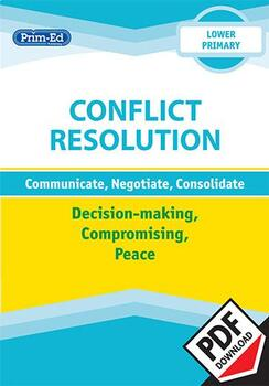 CONFLICT RESOLUTION - DECISION-MAKING, COMPROMISING, PEACE: LOWER UNIT