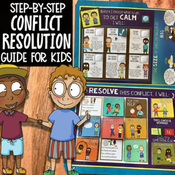 CONFLICT RESOLUTION ACTIVITY: Helps Students Resolve Conflicts On Their Own