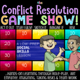 CONFLICT RESOLUTION School Counseling Guidance Lesson, Game & Tips *Low-Prep!