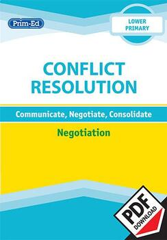 CONFLICT RESOLUTION - NEGOTIATION: LOWER UNIT