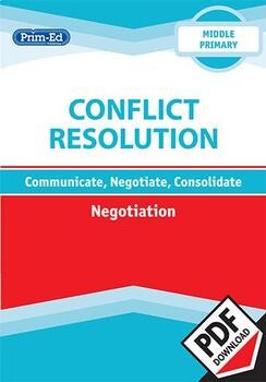 CONFLICT RESOLUTION - NEGOTIATION: MIDDLE UNIT