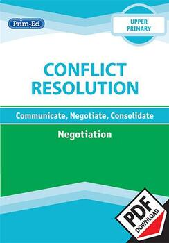 CONFLICT RESOLUTION - NEGOTIATION: UPPER UNIT
