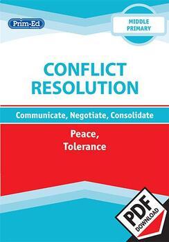 CONFLICT RESOLUTION - PEACE/TOLERANCE: MIDDLE UNIT