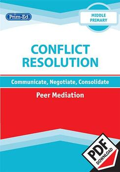 CONFLICT RESOLUTION - PEER MEDIATION: MIDDLE UNIT