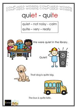 COMMONLY CONFUSED WORDS GAME BUNDLE - 6 Games - then/than, quiet/quite  + 4 more
